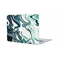 MacBook Pro 15 inch Case 2018 2017 2016 - AOMO Marble Pattern Plastic Hard Shell Protective Case Cover for Apple MacBook Pro 15 Inch with Touch Bar/Touch ID (Model: A1990/A1707) - Ocean Marble 39