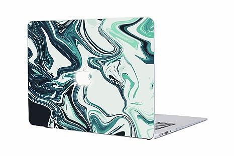 Carcasa MacBook Pro 13, AQYLQ Protector de Plástico Cubierta [Mármol colorido] Funda Dura para Old MacBook Pro 13 Pulgadas con CD-Rom A1278 (Versión ...