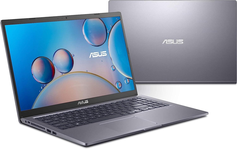 "ASUS VivoBook 15 F515 Thin and Light Laptop, 15.6"" FHD Display, Intel Core i7-1165G7 Processor, Iris Xe Graphics, 8GB DDR4 RAM, 512GB SSD, Fingerprint Reader, Windows 10 Home, Slate Grey, F515EA-DS74"