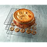 "Economy Baker's Stackable Cooling Rack - 13"" x 10"" (3)"