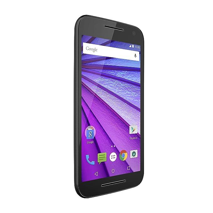 6d637977d7c Amazon.com: Motorola Moto G (3rd Generation) - Black - 8 GB - Global GSM  Unlocked Phone: Cell Phones & Accessories