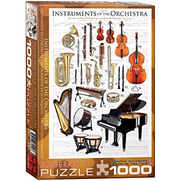Amazon.com: EuroGraphics Instruments of the Orchestra Puzzle (1000 ...