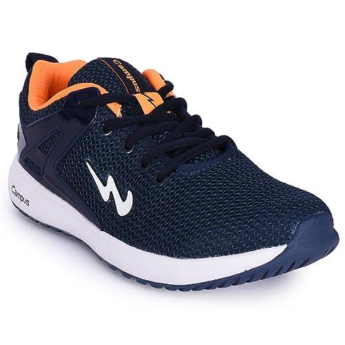 Orange Mesh Running Shoes (Size
