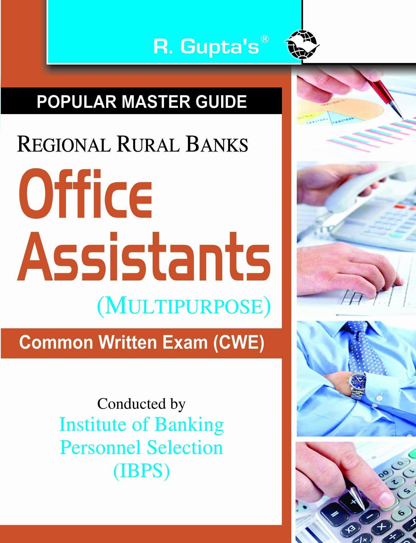 Buy Regional Rural Banks Office Assistants Multipurpose Ibps Cwe