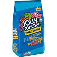 JOLLY RANCHER Assorted Fruit Flavored Hard Candy, Individually Wrapped, 5 lb Bag (360 Pieces)