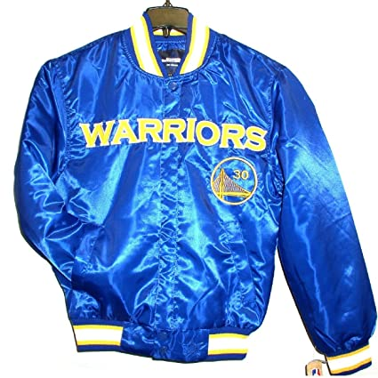 29065d06f55 Image Unavailable. Image not available for. Color  NBA Men s Golden State  Warriors Stephen Curry  30 Satin Jacket ...