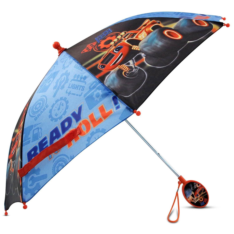 Nickelodeon Little Boys Blaze Character Rainwear Umbrella, Black/Blue, Age 3-7 BAR75770ST