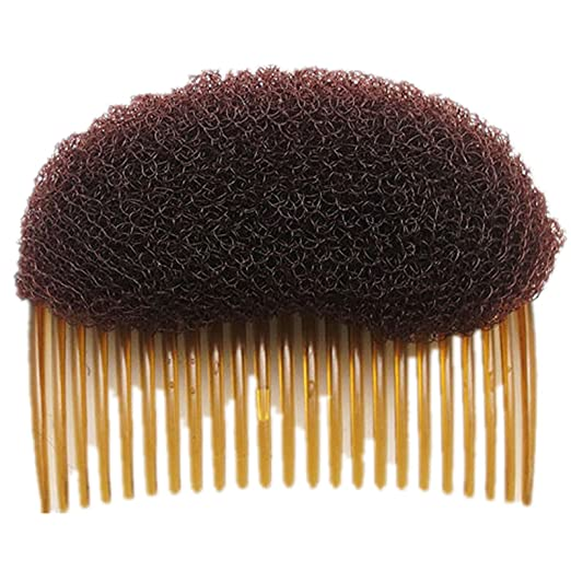 Edwardian Gloves, Handbag, Hair Combs, Wigs AnHua 1PC Charming BUMP IT UP Volume Inserts Do Beehive hair styler Insert Tool Hair Comb Black/Brown colors for choose Hot $5.99 AT vintagedancer.com