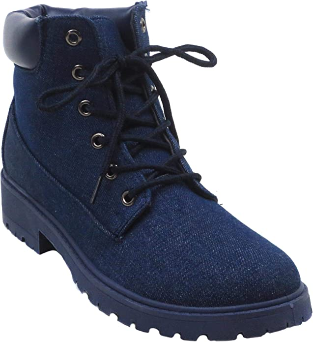 Ankle Fashion Fall Combat Boots