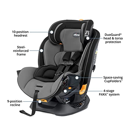 Chicco Fit4 4-in-1 Convertible - Best Convertible Car Seat Overall