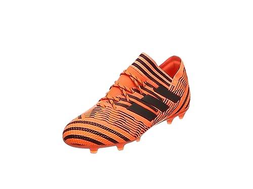 c337cc954 adidas Girls' Nemeziz 7 Fg J Footbal Shoes, Multicolor (Legend Ink/Solar