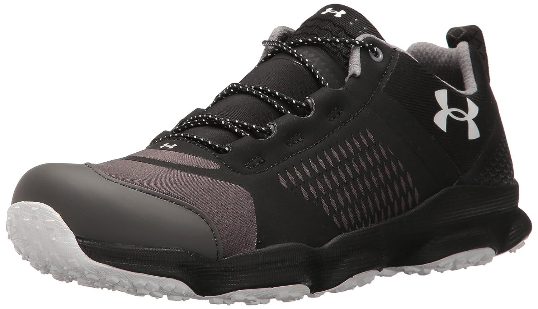 Under Armour Men's Speedfit Hike Low, Black/Steel/Red, 11.5 D(M) US 45.5 EU Negro Y Gris