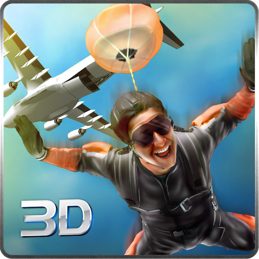 Sky Dive Airplane Adventure Simulator 3D: Wingsuit Parachute Gliding Skydiving Crazy Flying Adventure Simulator Games Free For Kids ()