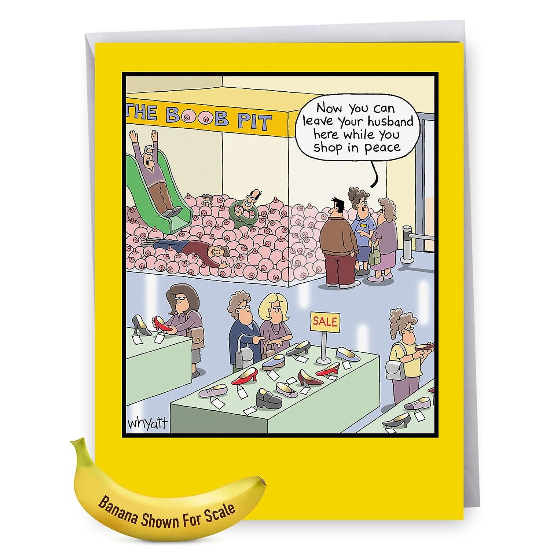 Amazon J4349bdg Jumbo Humorous Birthday Card Bb Pit With