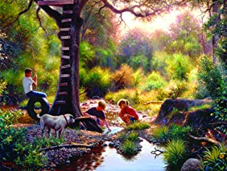 product image for The Clubhouse 500 pc Jigsaw Puzzle by SUNSOUT INC