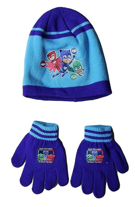 PJ Masks with Glove Set Hat pyjamasque  Amazon.co.uk  Kitchen   Home f6471e7e875e