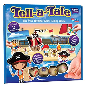 Cheatwell Games Tell-a-Tale - Juego de Cartas de Pirata ...