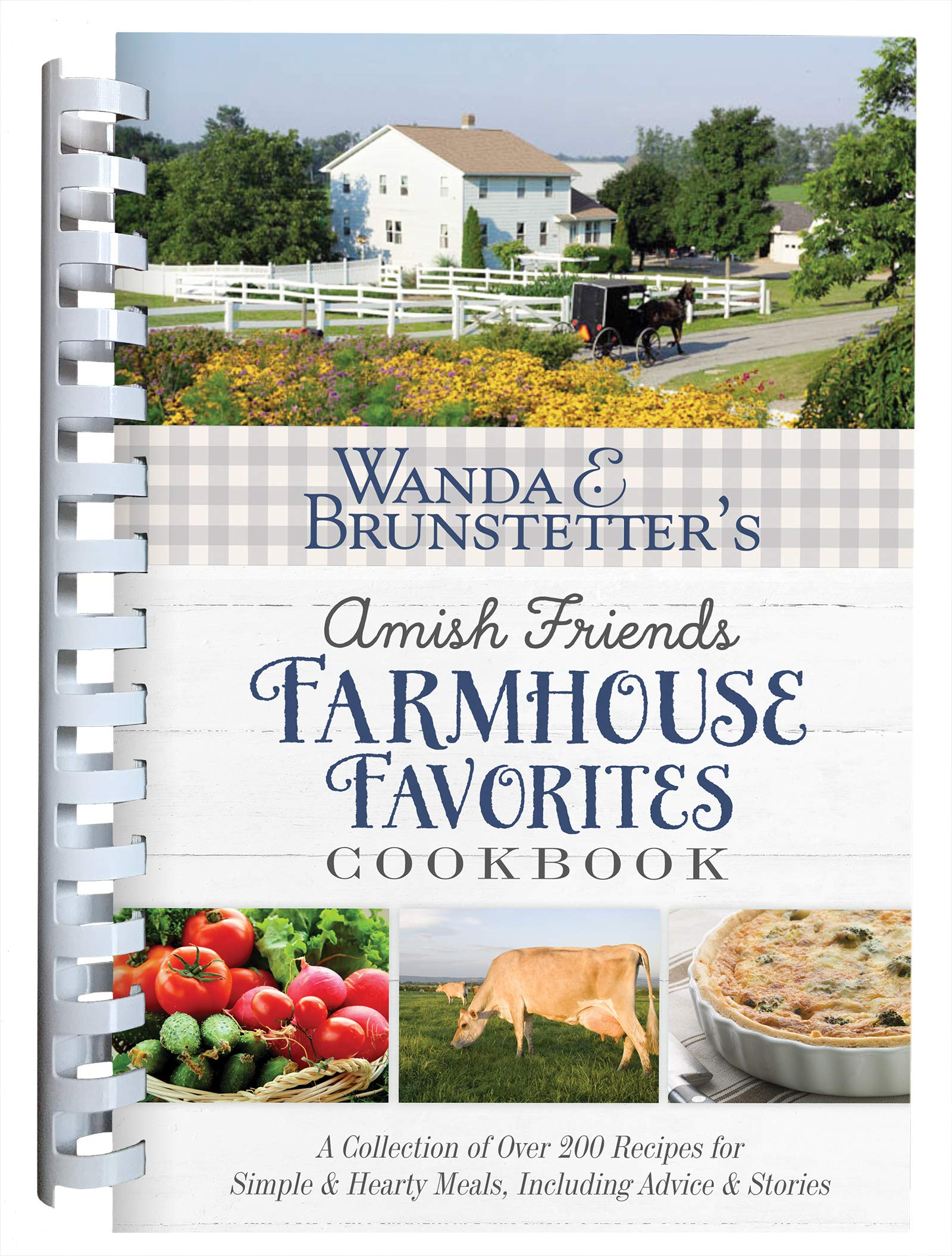Wanda E. Brunstetter's Amish Friends Farmhouse Favorites Cookbook: A Collection of Over 200 Recipes for Simple and Hearty Meals, Including Advice and Stories {A Book Review}