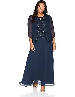 09983d88cd1 J Kara Women s Size Beaded Gown Scarf Plus at Amazon Women s ...