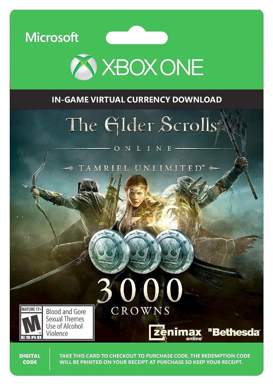 The Elder Scrolls Online Tamriel Unlimited (Xbox One): Amazon co uk