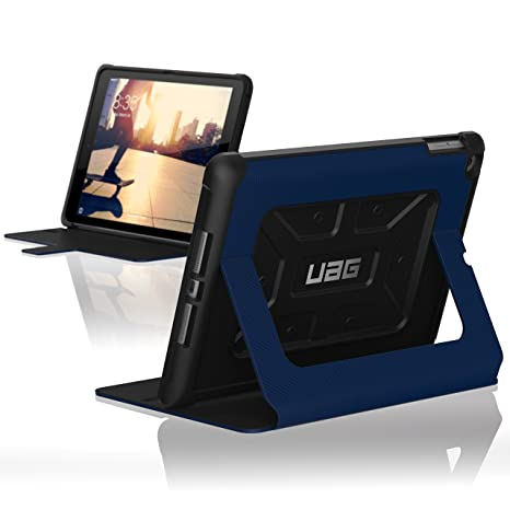 UAG Folio iPad 9.7 (2017 5th Gen & 2018 6th Gen) Metropolis Feather-Light Rugged [Cobalt] Military Drop Tested iPad Case