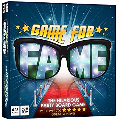 GAME FOR FAME THE HILARIOUS PARTY BOARDGAME: Toys & Games