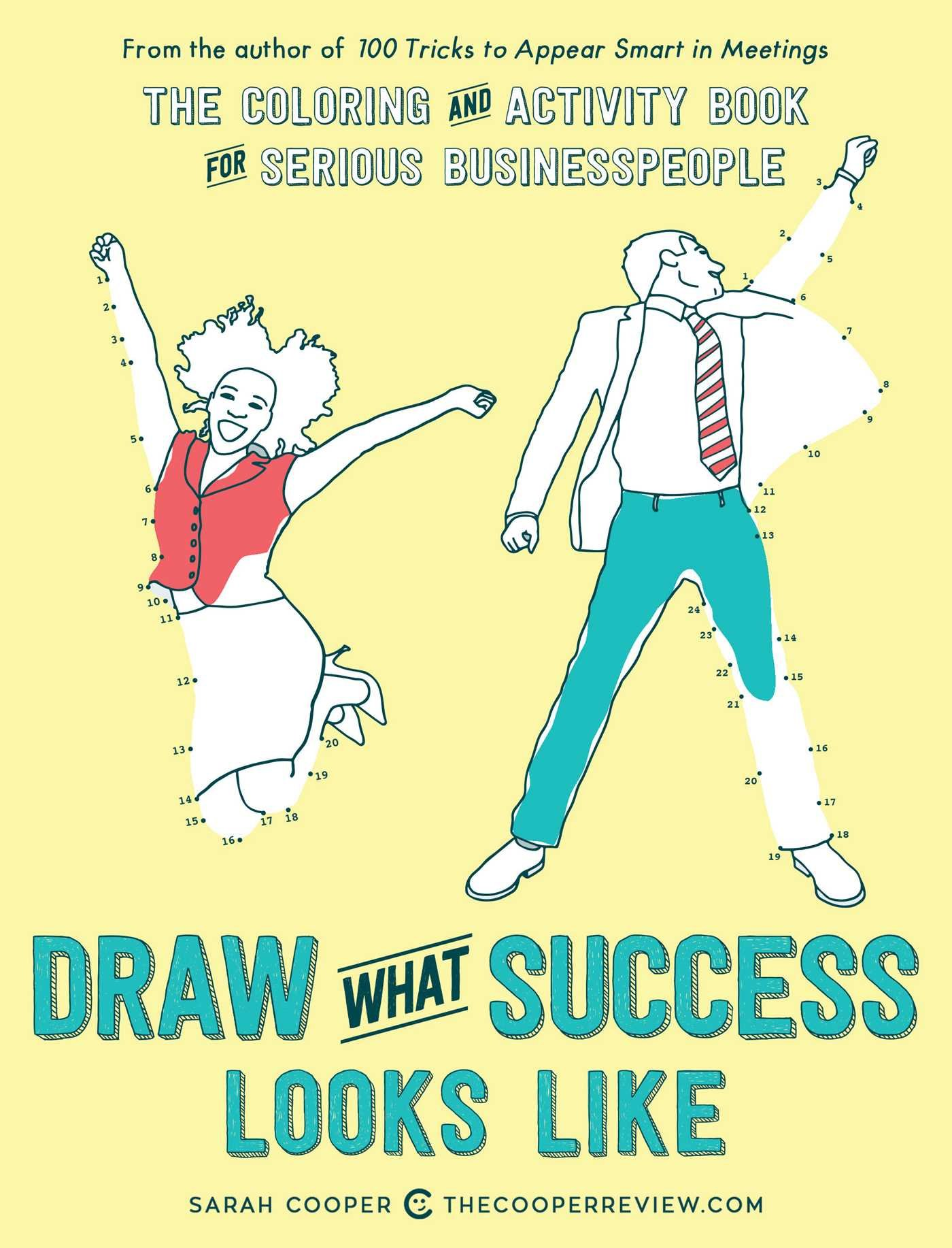 Amazon sarah cooper books biography blog audiobooks kindle draw what success looks like the coloring and activity book for serious businesspeople fandeluxe Images