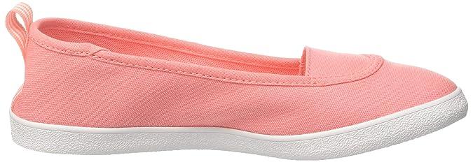 adidas CF QT VULC so W, Damen Ein Ausschnitt Low,Beige (Grivap/ftwbla/orqcla),37 1/3 EU