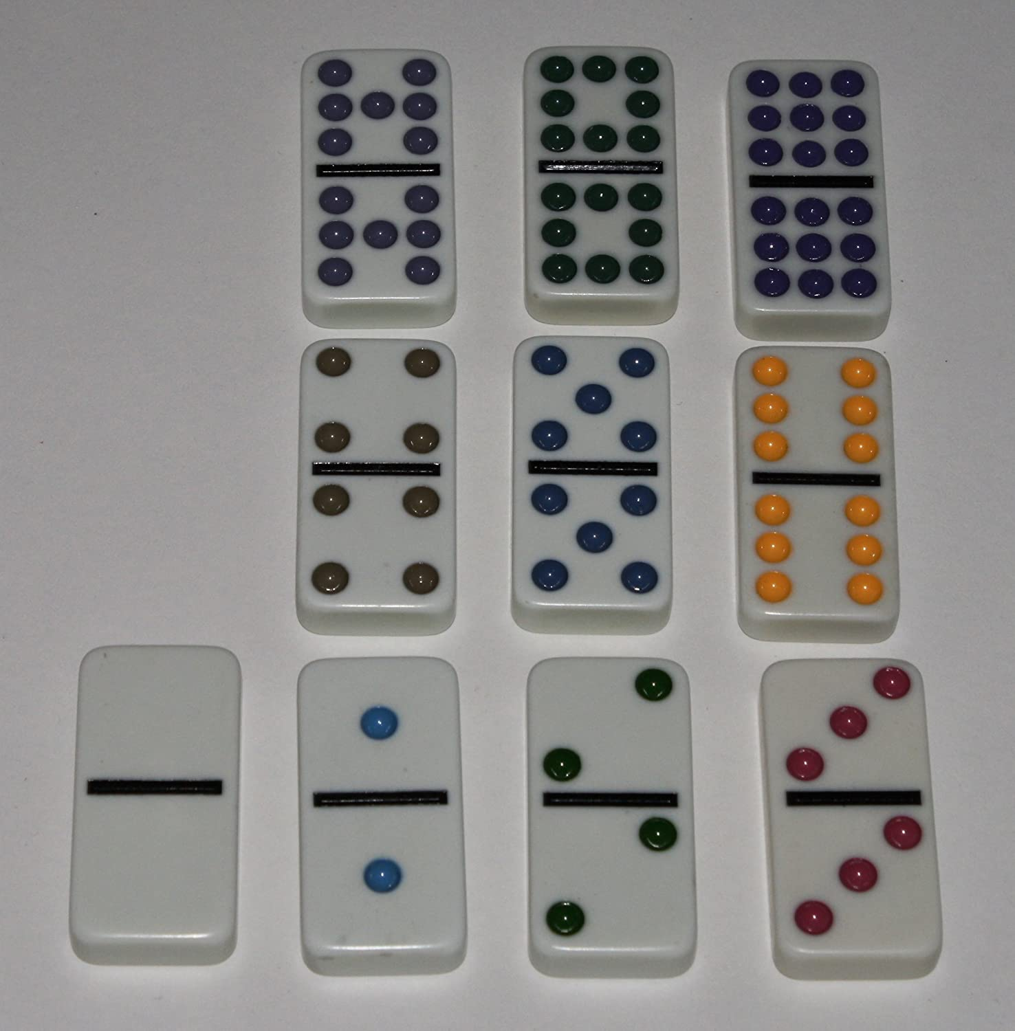 Weible Toys /& Games 250102/-/Double 9/Dominoes in Metal Tin