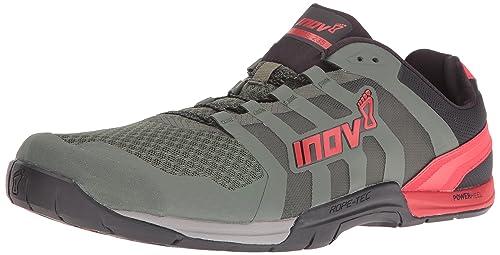 Inov8 - Inov-8f-lite 235 - Zapatillas Fitness e Indoor - Dark Green/Black/Red: Amazon.es: Zapatos y complementos