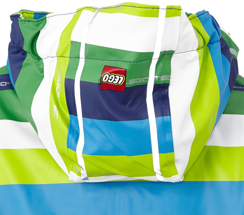 Lego Wear Jungen Regenmantel Duplo Regenjacke Joe 203