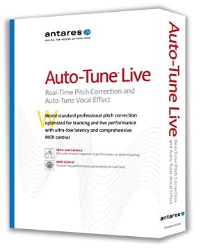 antares auto tune live pitch correction software amazon co uk
