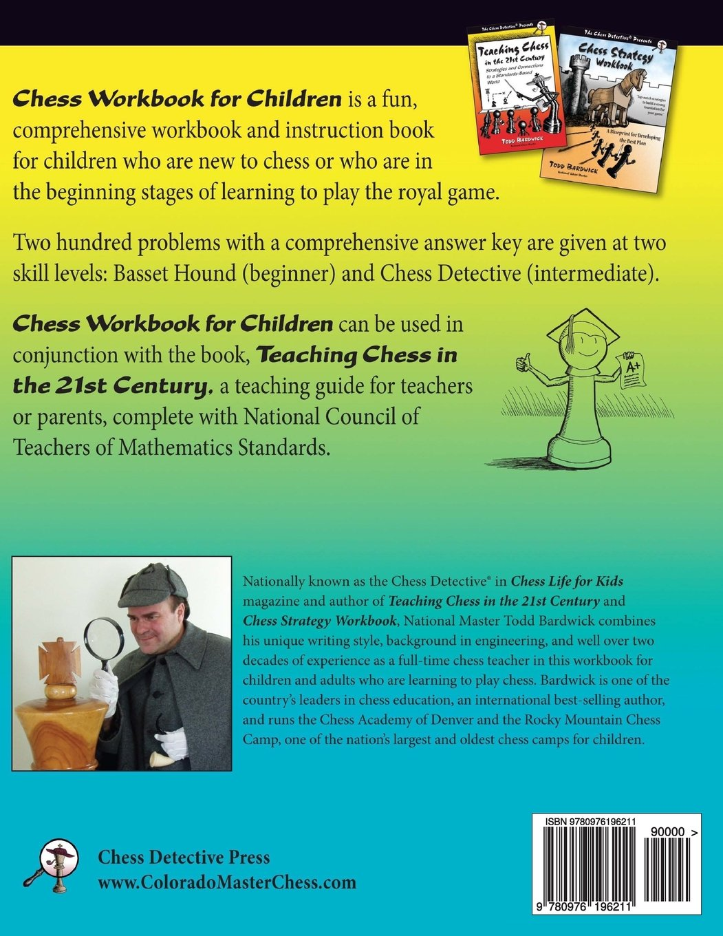 Chess Workbook for Children: The Chess Detective\'s Introduction to ...
