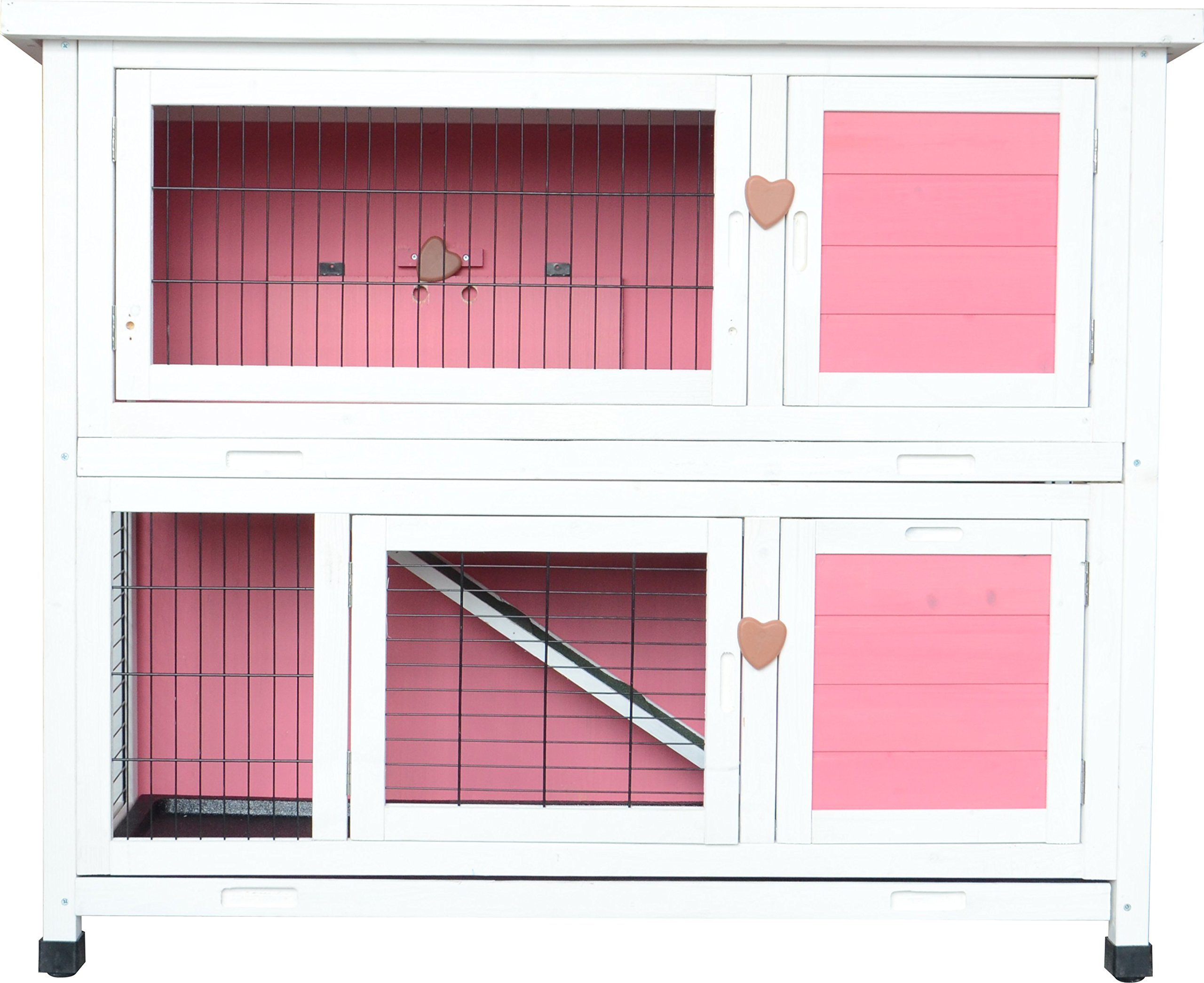 product hutch pet overstock trixie supplies shipping products today free solid rabbit story wood