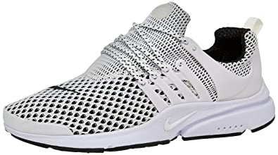 Nike Men s Air Presto Ultra Flyknit White Running Shoes - 9 UK India ... 96f591e34d