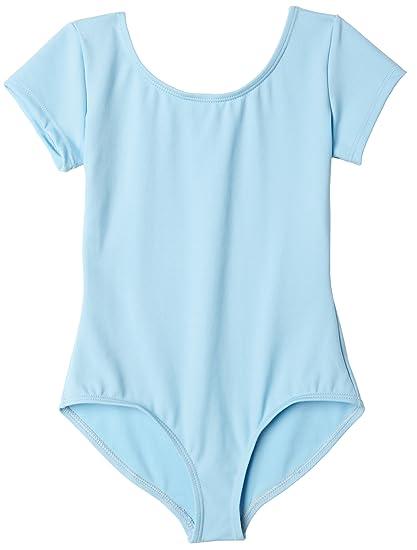 2347c47d50 Amazon.com  Capezio Girls  Team Basic Short Sleeve Leotard  Clothing