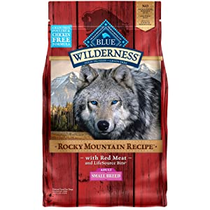 Blue Buffalo Wilderness Rocky Mountain Recipe Small Breed Dry Dog Food