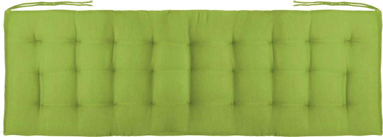 Creme Brandsseller Bankauflage Bankkissen Outdoor//Indoor 27er Steppung ca.120x40x4 cm