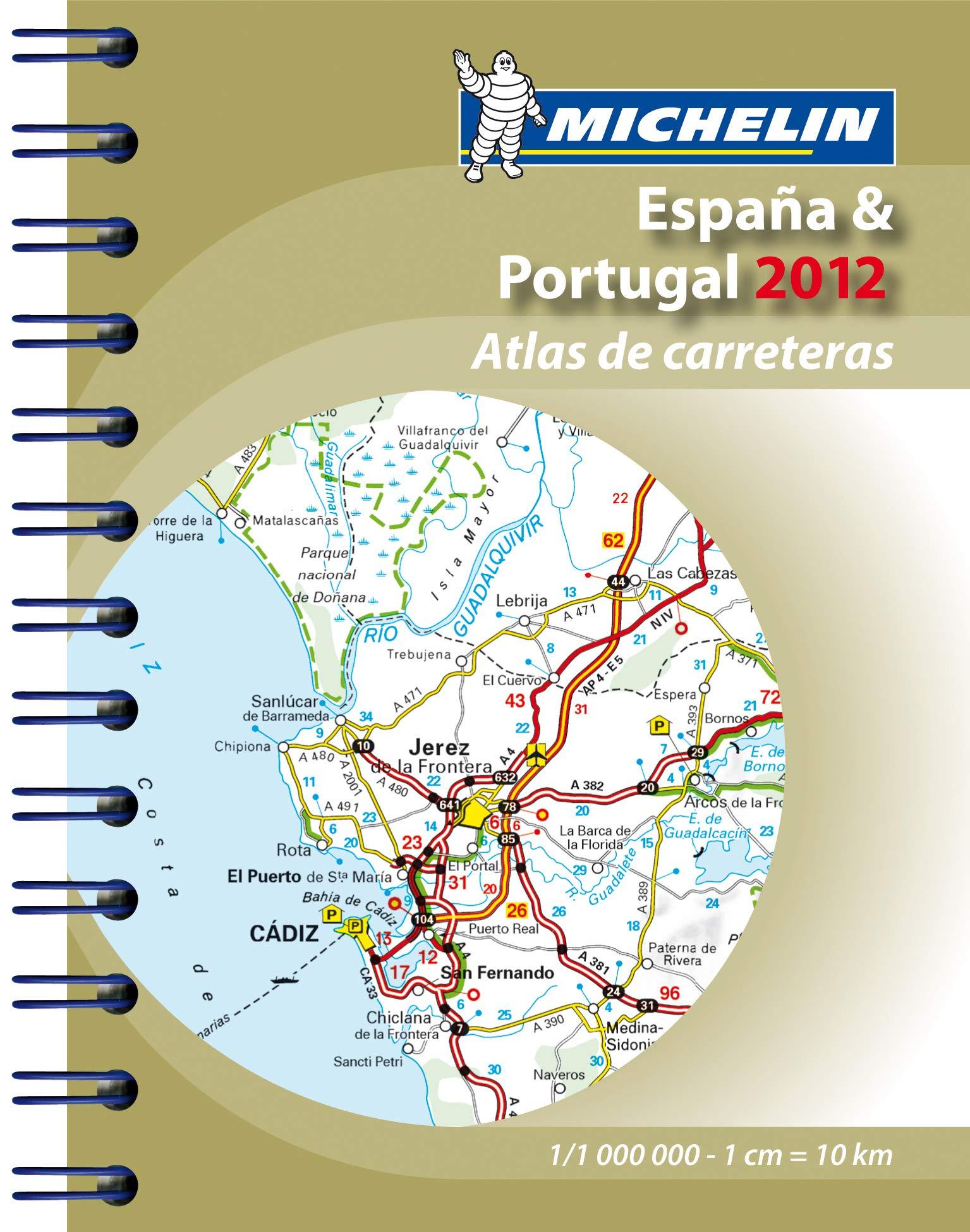 Mini-Atlas España & Portugal 2012 Michelin Tourist and Motoring Atlases: Amazon.es: Collectif: Libros