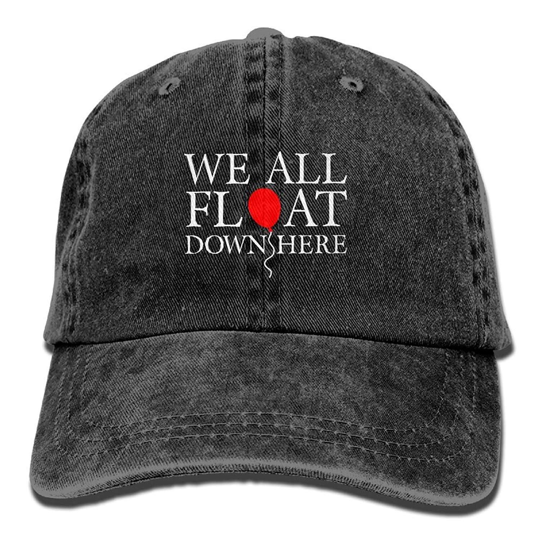 HU MOVR Cowboy Hat Neon Pickleball Funny Adult Sport Hat Adjustable