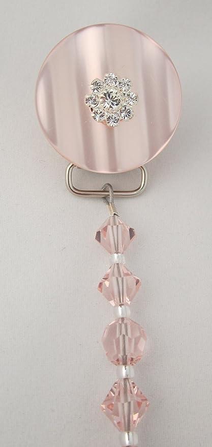 Cristal sueño elegante rosa Cristales de Swarovski con ...