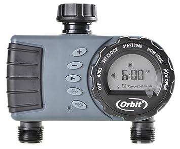 Orbit Digital Hose Sprinkler Irrigation Timer For Vacation Lawn, Plant, And  Garden Watering (