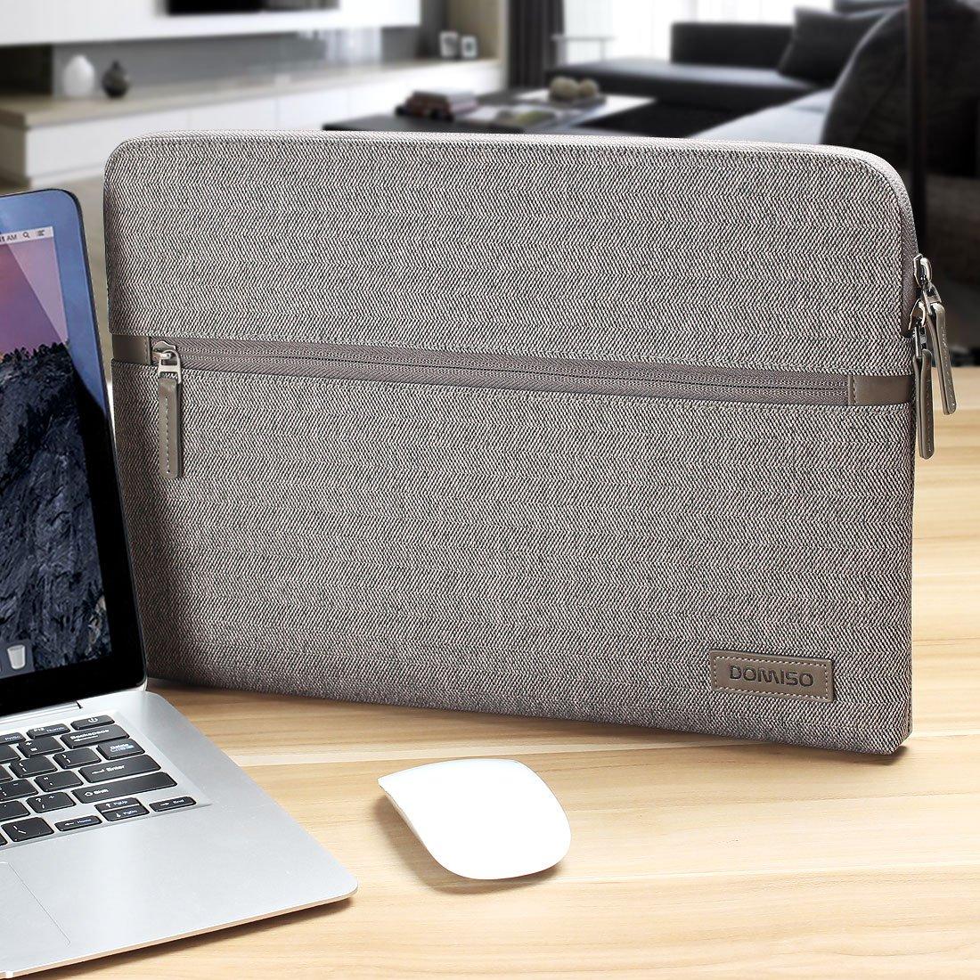 Acer Asus Tablet Netbook HP DOMISO 10,1-10,5 Pulgadas Funda Resistente al Agua Bolsa Protectora para Ordenador Port/átil Gris 9.7 iPad Pro 10.1 Lenovo Tab 4 Plus