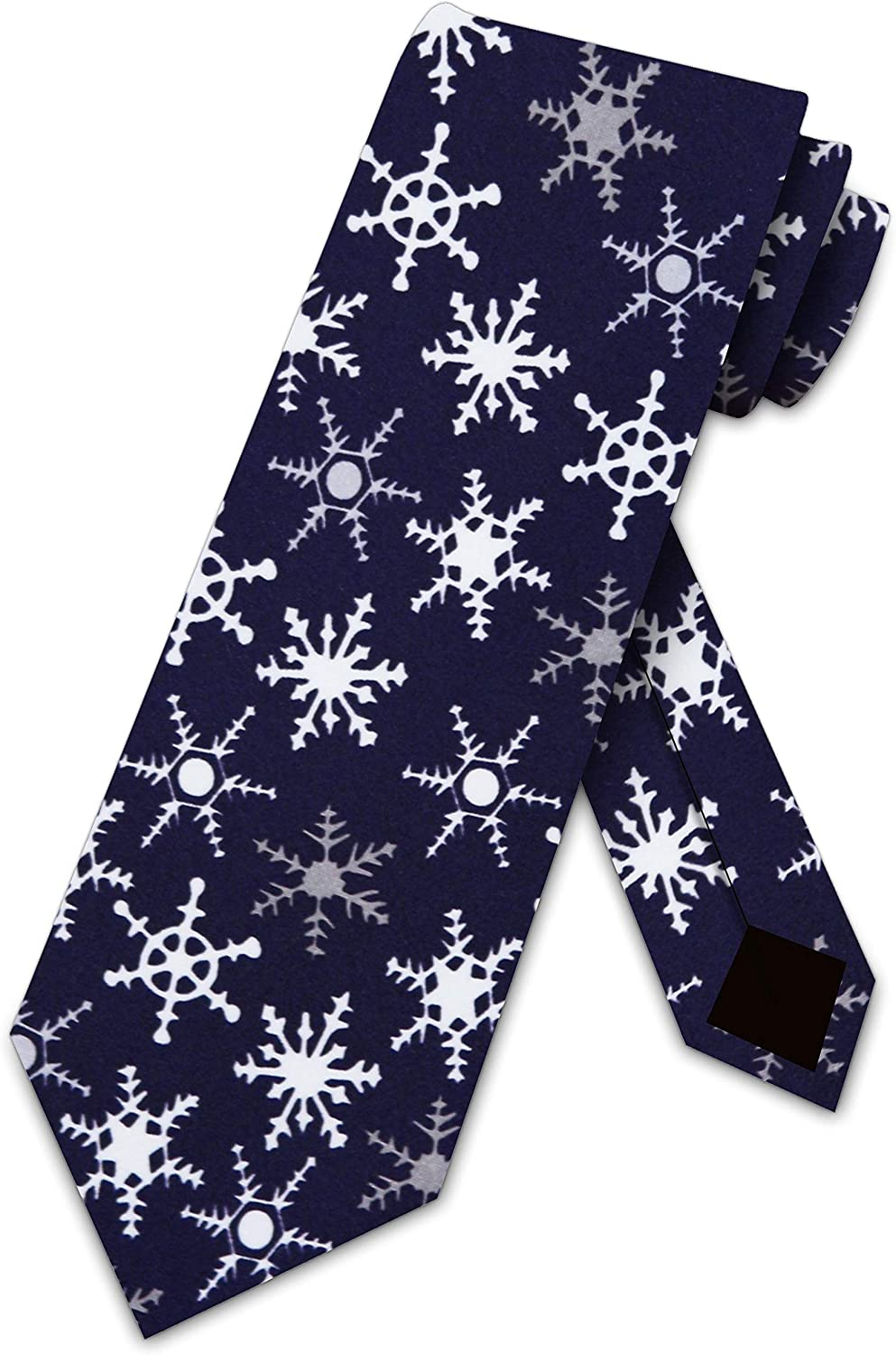 Cat Tie Mens Meowy Christmas Neckties by Three Rooker