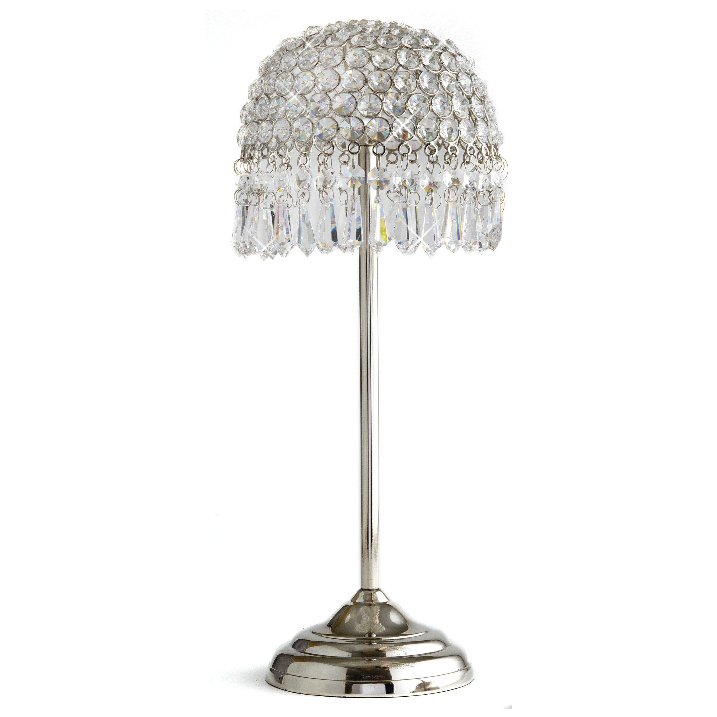 Elegance Sparkle LED Candle Lamp, 17.5-Inch