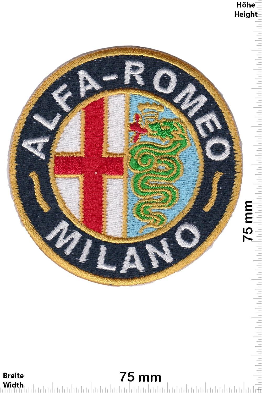 Alfa zum aufb/ügeln Auto Auto Patch Milano Alfa Romeo HQ Iron On Aufn/äher