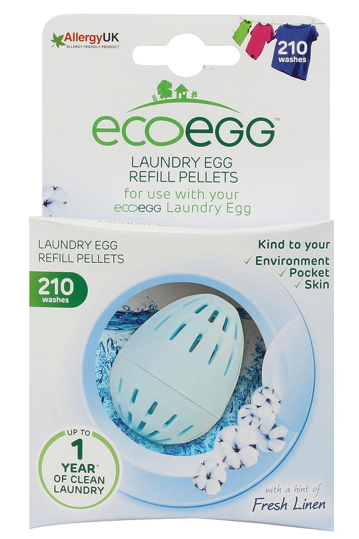 Ecoegg EELER210SC - Pellets para recarga de lavadero, color azul, 210 lavados