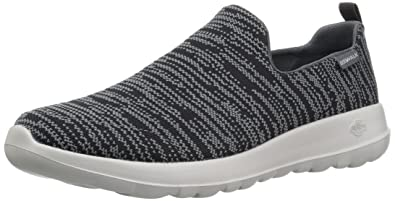 huge discount 11c69 e6f2c Skechers Herren Slipper Go Walk Max-Infinite Grau/Schwarz
