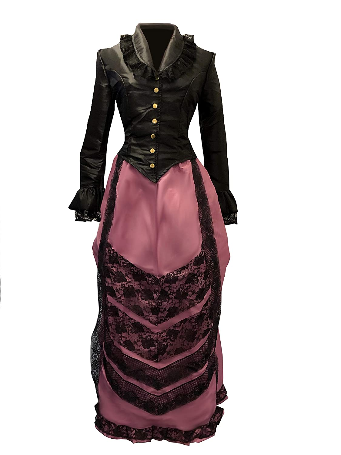 Old Fashioned Dresses | Old Dress Styles Reminisce Victorian Cosplay Costume $49.99 AT vintagedancer.com