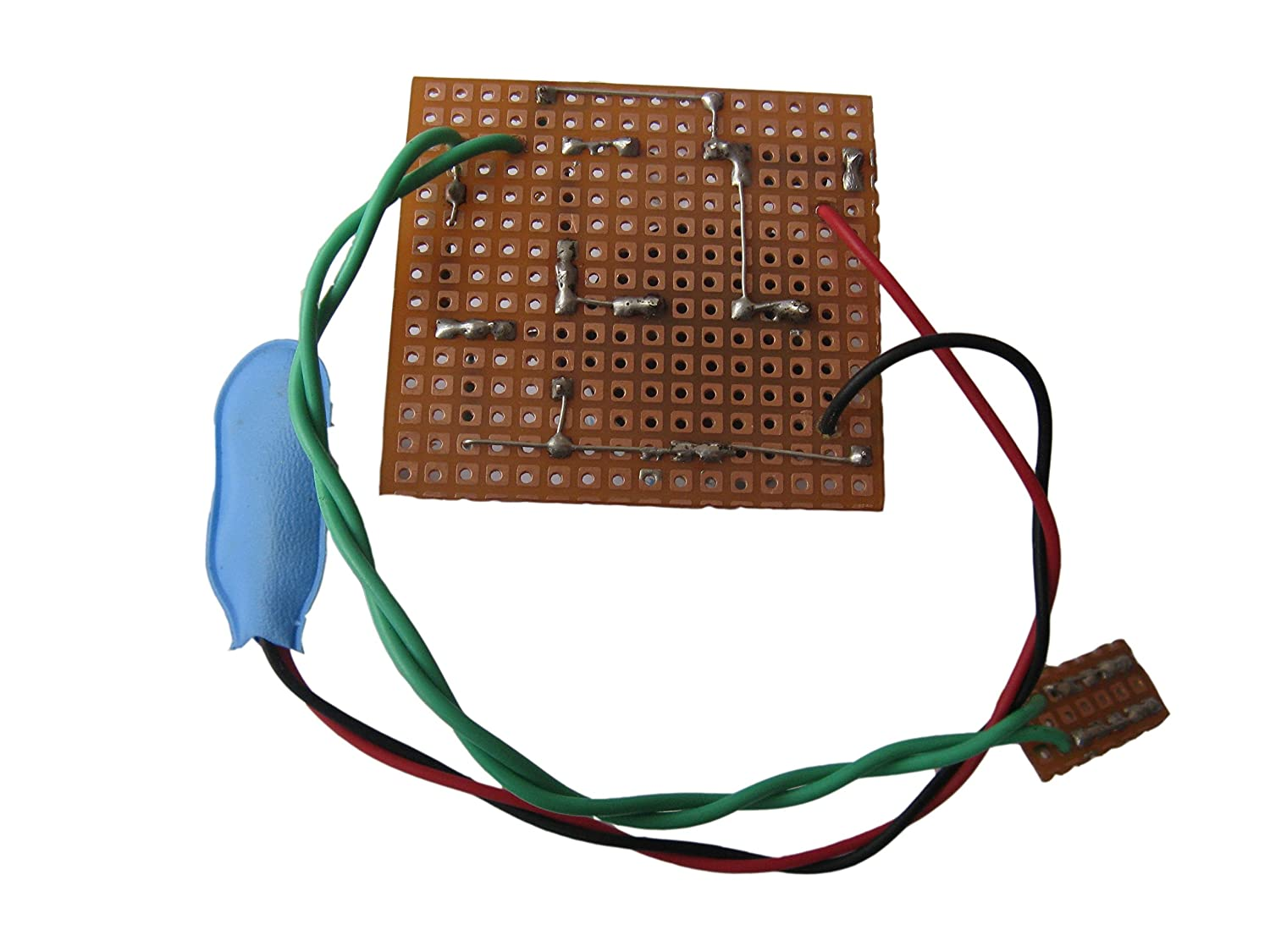 Pke Rain Alarm Water Level Circuit Project Bc548 Heat Sensor